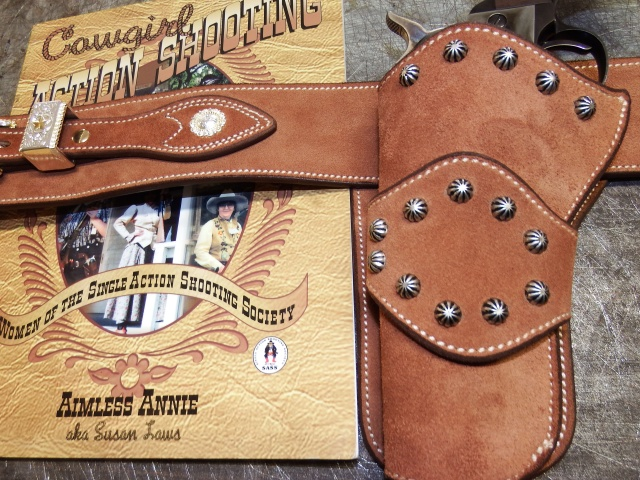 """COWBOY ACTION SHOOTING """"ROUGH OUT"""" HOLSTER by SLYE Dscf4044"""