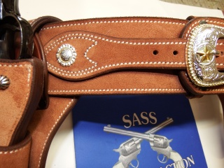 """COWBOY ACTION SHOOTING """"ROUGH OUT"""" HOLSTER by SLYE Dscf4045"""