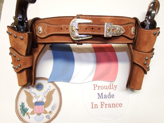 """COWBOY ACTION SHOOTING """"ROUGH OUT"""" HOLSTER by SLYE Dscf4046"""