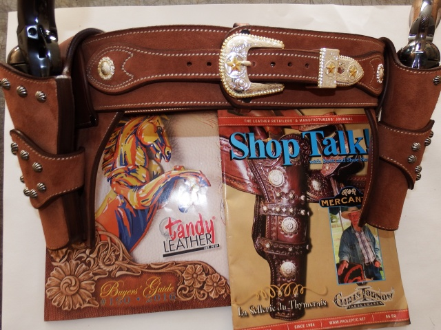 """COWBOY ACTION SHOOTING """"ROUGH OUT"""" HOLSTER by SLYE Dscf4047"""