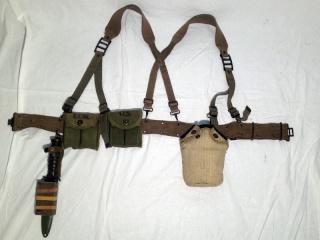 """Sergent-Chef du 8ème BPC, chef de section à l'opération """"Brochet"""" (octobre 1953) Ok1010"""