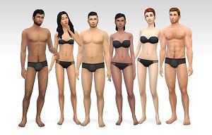 Скинтоны, лица и составляющие Tumbl139