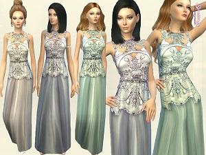 Формальная одежда, свадебные наряды - Страница 4 W-600h10