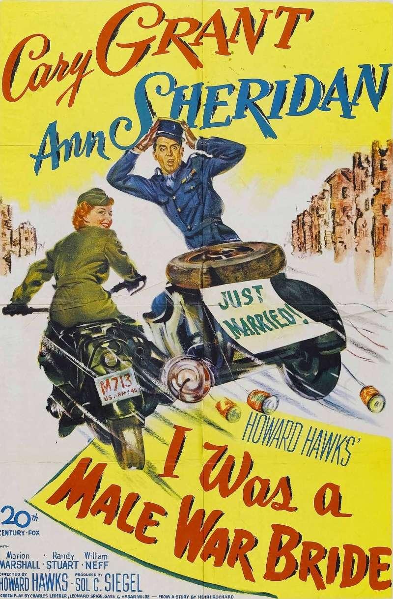 Bio Sam Ratna Nevesta (I Was a Male War Bride) (1949) Vod710
