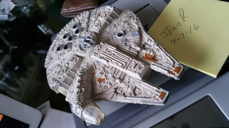 FS - Ewok Village / Han Carbonite Block Slave 1 / Die Cast Falcon - ALL SOLD 2016-035