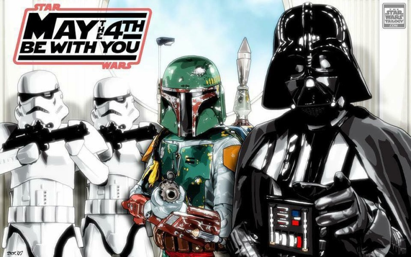 Happy Star Wars Day!  May_4h10