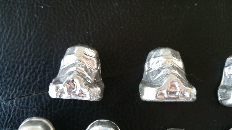 When hobbies collide - Bootleg Silver Ingots of Darth Vader and Stormtroopers Silver10