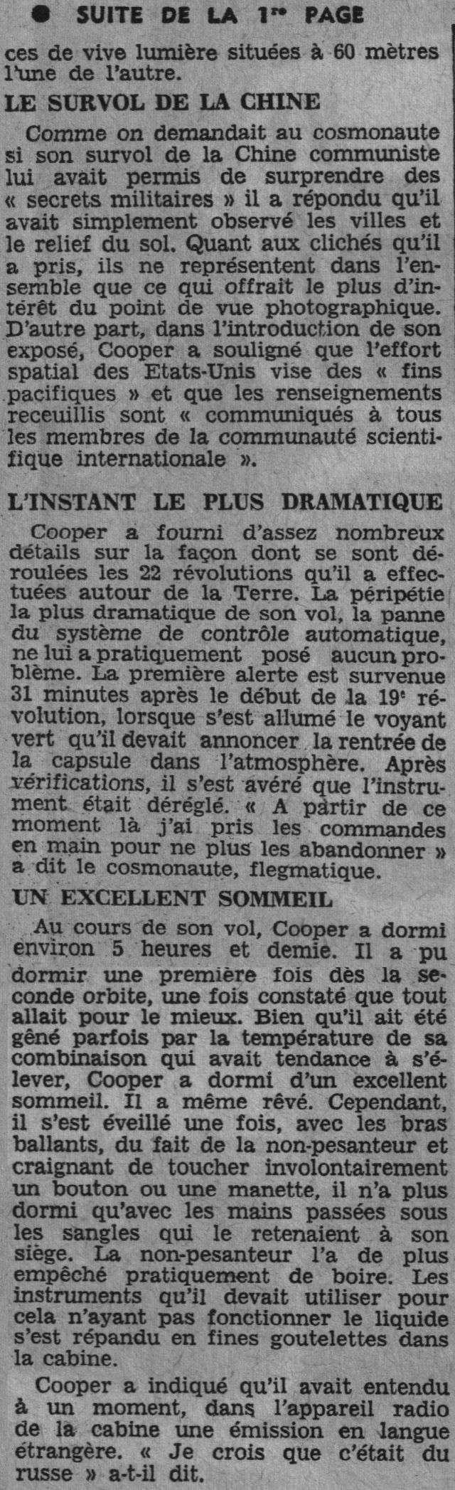 15 mai 1963 - Mercury Atlas  3 - Gordon Cooper 63052111