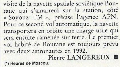 19 février 1986 - Station Spatiale MIR 90060911