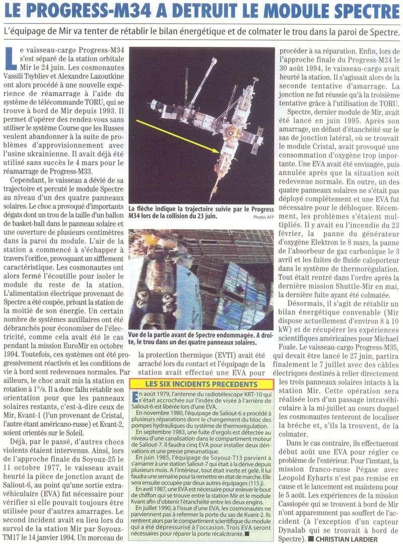 19 février 1986 - Station Spatiale MIR 97070410