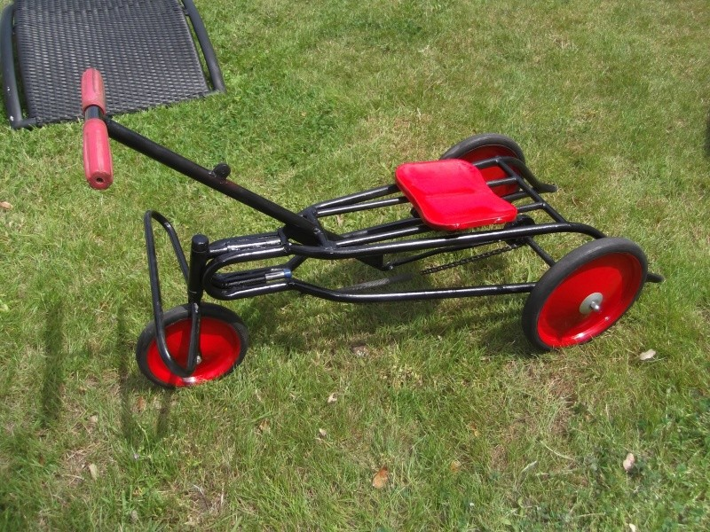 petit tricycle ancien Cyclor10