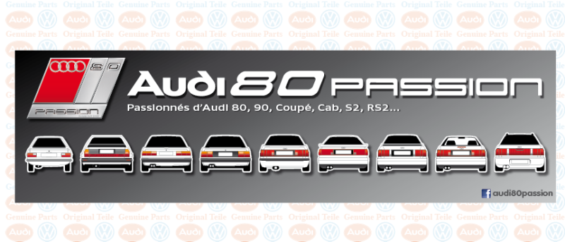 Forum Audi 80, 90, Coupé, Cabriolet, S2, RS2...