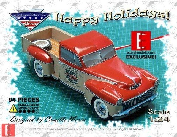 '40 Ford Pick Up Street Rod von Monogram. Pickup10