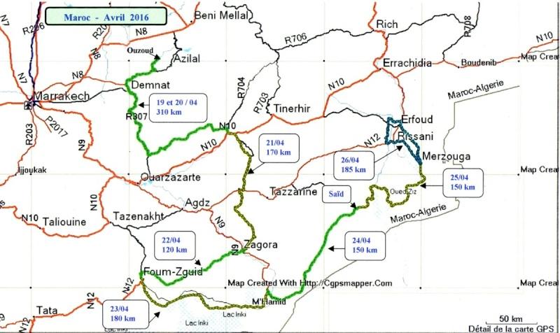 Maroc du 16 avril au 01 mai 2016 Progra15