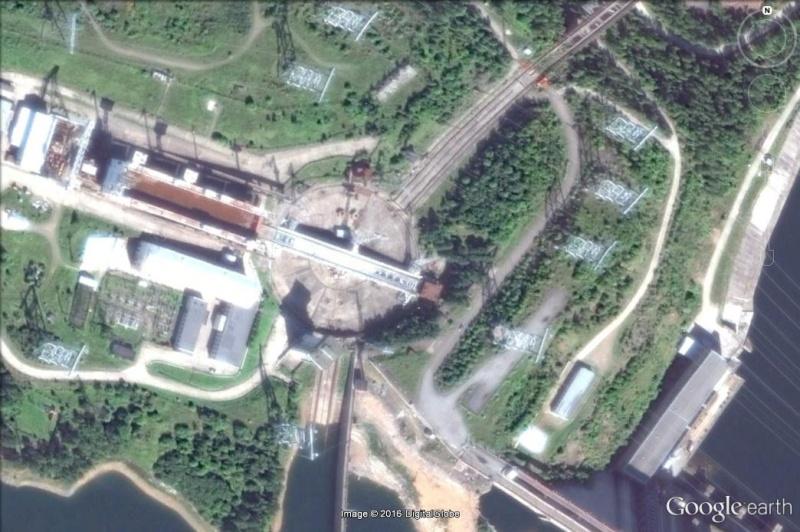 Le plus gros ascenseur à bateau Kranoyarsk Russie Asc10
