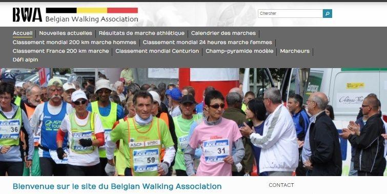 Belgian Walking Association:  plutôt grand fond Bwa10