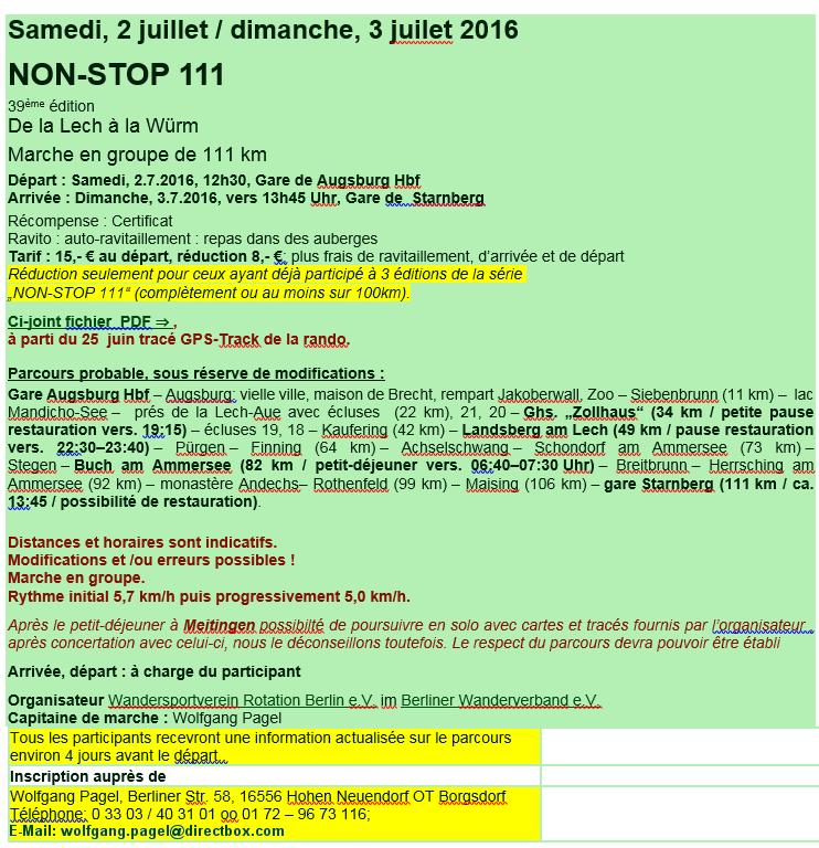 Non-Stop 111: Augsburg-Starnberg (D) 111km: 2-3/7/ 2016   Non_st12