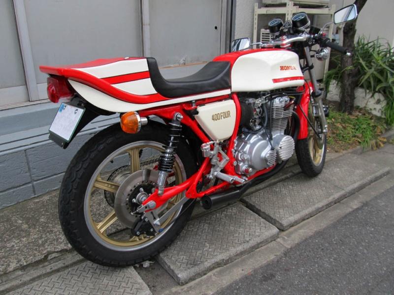 CB400FOUR Honda215