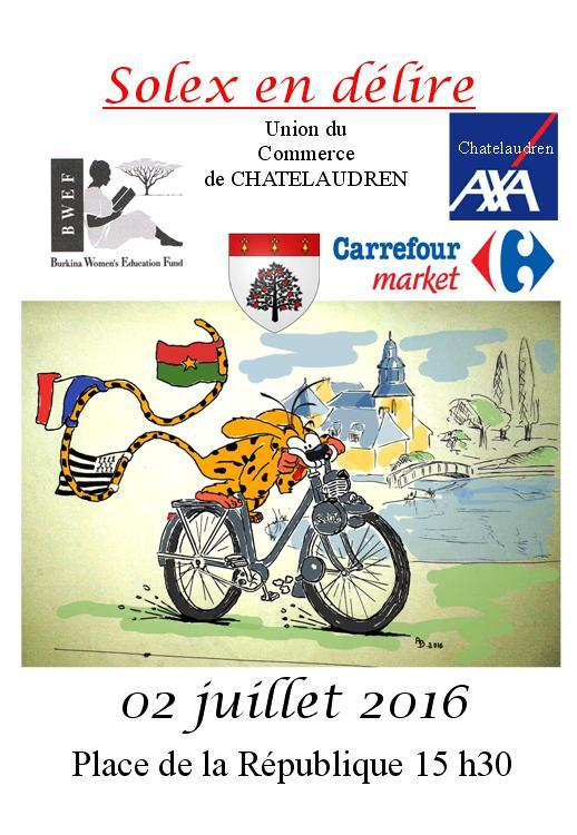 Solex en Délire - Châtelaudren - 2 & 3 Juillet 2016. Affich10