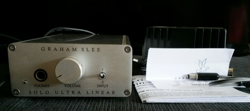 Graham Slee - Solo Ultra-Linear Headphone Amplifier + PSU1 Power Supply Graham12