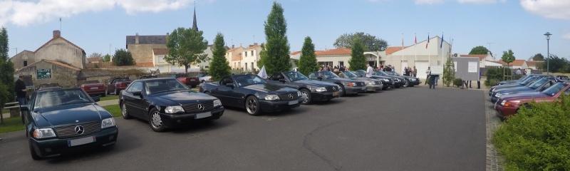 Rassemblement Mercedes SL 129 aux Sables d'Olonnes w-e de la Pentecôte Gopr0032
