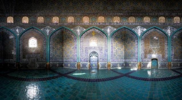 LA MOSQUEE DU CHEIKH LOTFOLLAH (IRAN) Blu_410