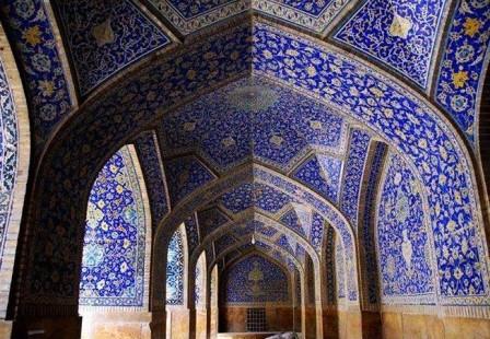 LA MOSQUEE DU CHEIKH LOTFOLLAH (IRAN) Blue_310
