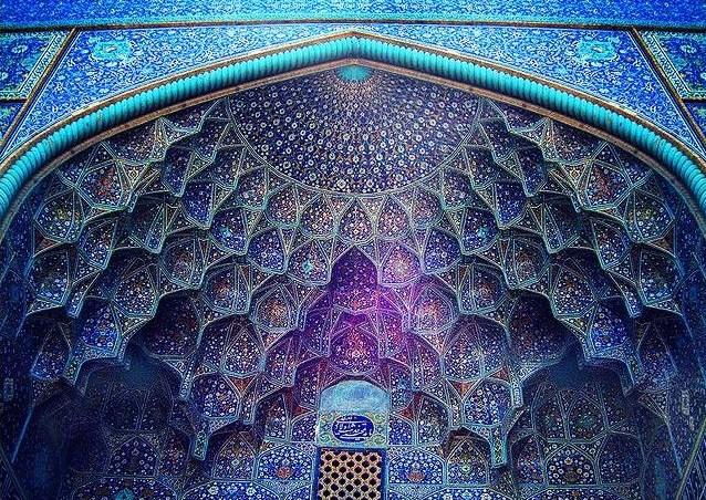 LA MOSQUEE DU CHEIKH LOTFOLLAH (IRAN) Dome10