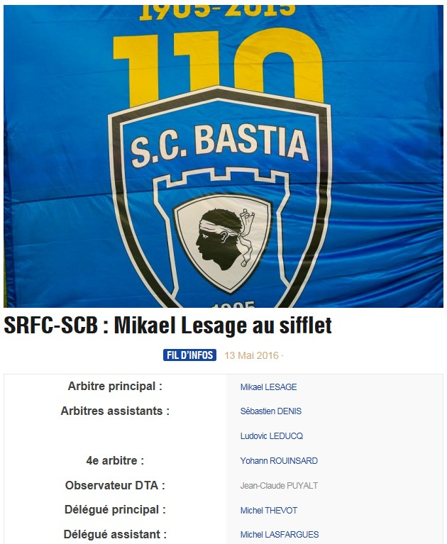 Avant match : Rennes - Bastia S51