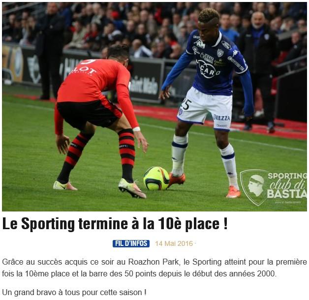 Après match : Rennes - Bastia S57