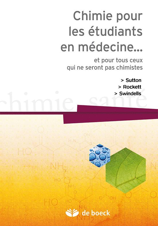[Culture Scientifique] Chimie pour les étudiants en médecine 97828010