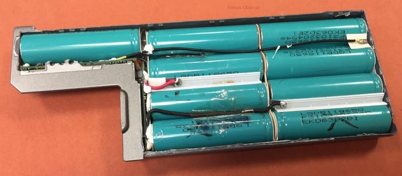 Récup des accumulateurs Li-ion 18650, tests et bidouillage de PowerBank Batter10
