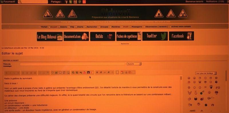 Troubles du sommeil et écran d'ordinateur : f.lux Captur15