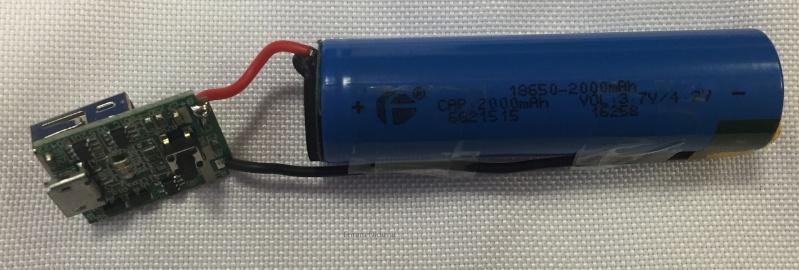 Récup des accumulateurs Li-ion 18650, tests et bidouillage de PowerBank Demont10