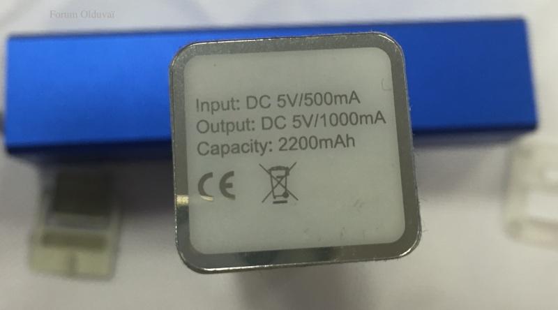 Récup des accumulateurs Li-ion 18650, tests et bidouillage de PowerBank Law10