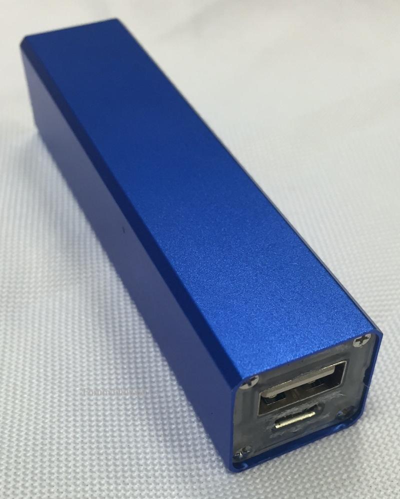 Récup des accumulateurs Li-ion 18650, tests et bidouillage de PowerBank Powerb10