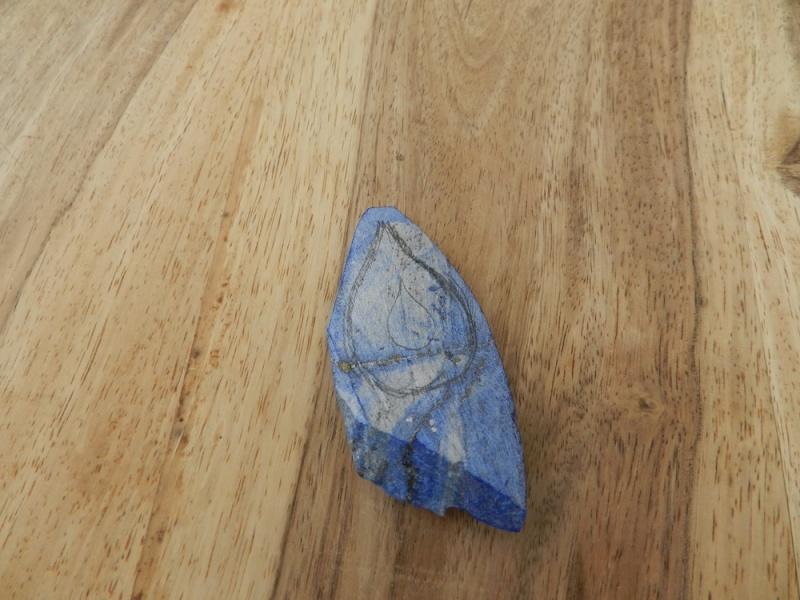 Une goutte d'eau en Lapis Lazuli Dscn9811