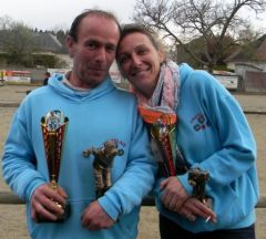 Championnat Doublette Mixte et Jeunes à Gennes S/Glaize Mixte10