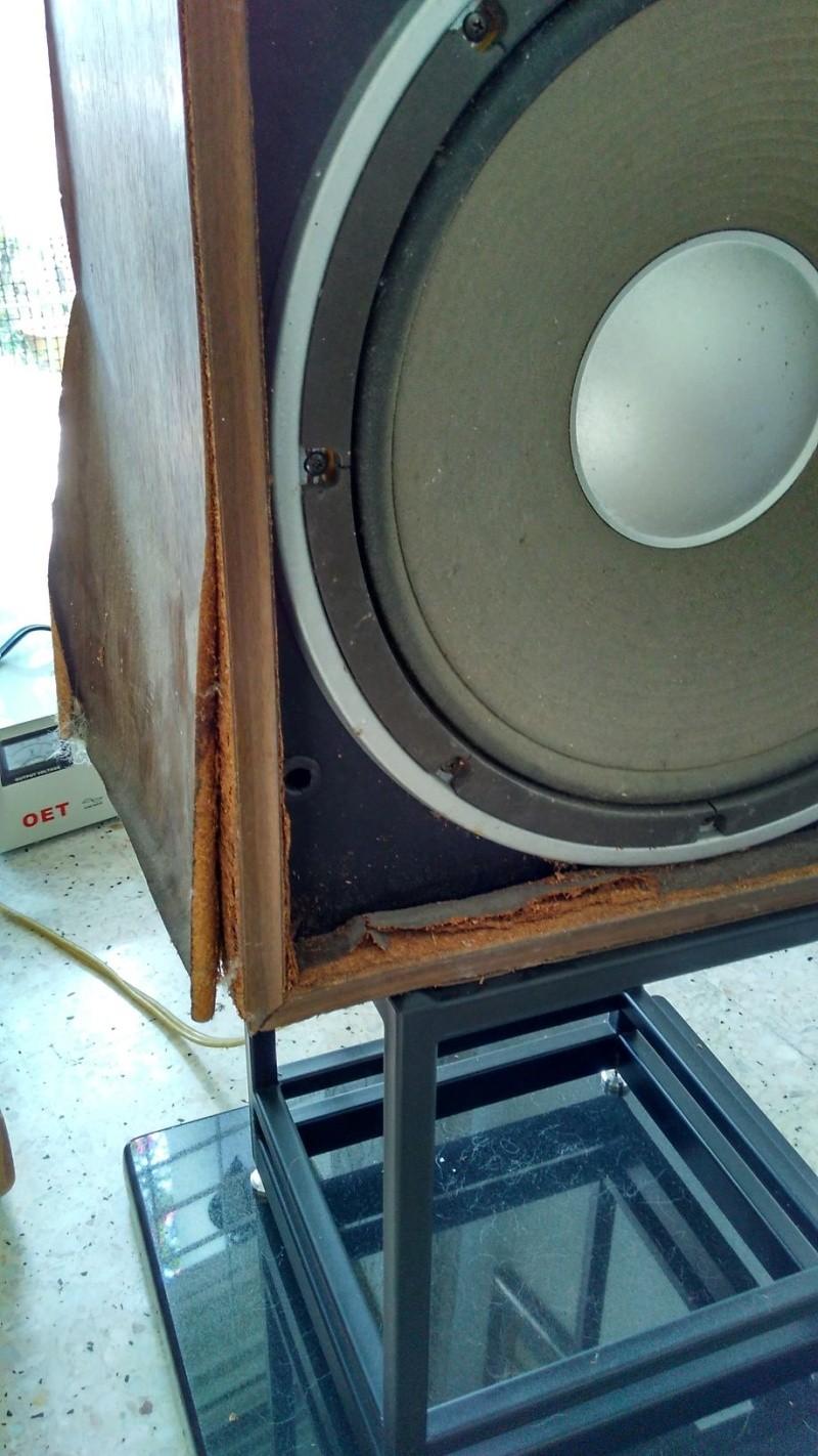 Rebuilding a pair of vintage Sansui speakers SP-X7700 Img_2041