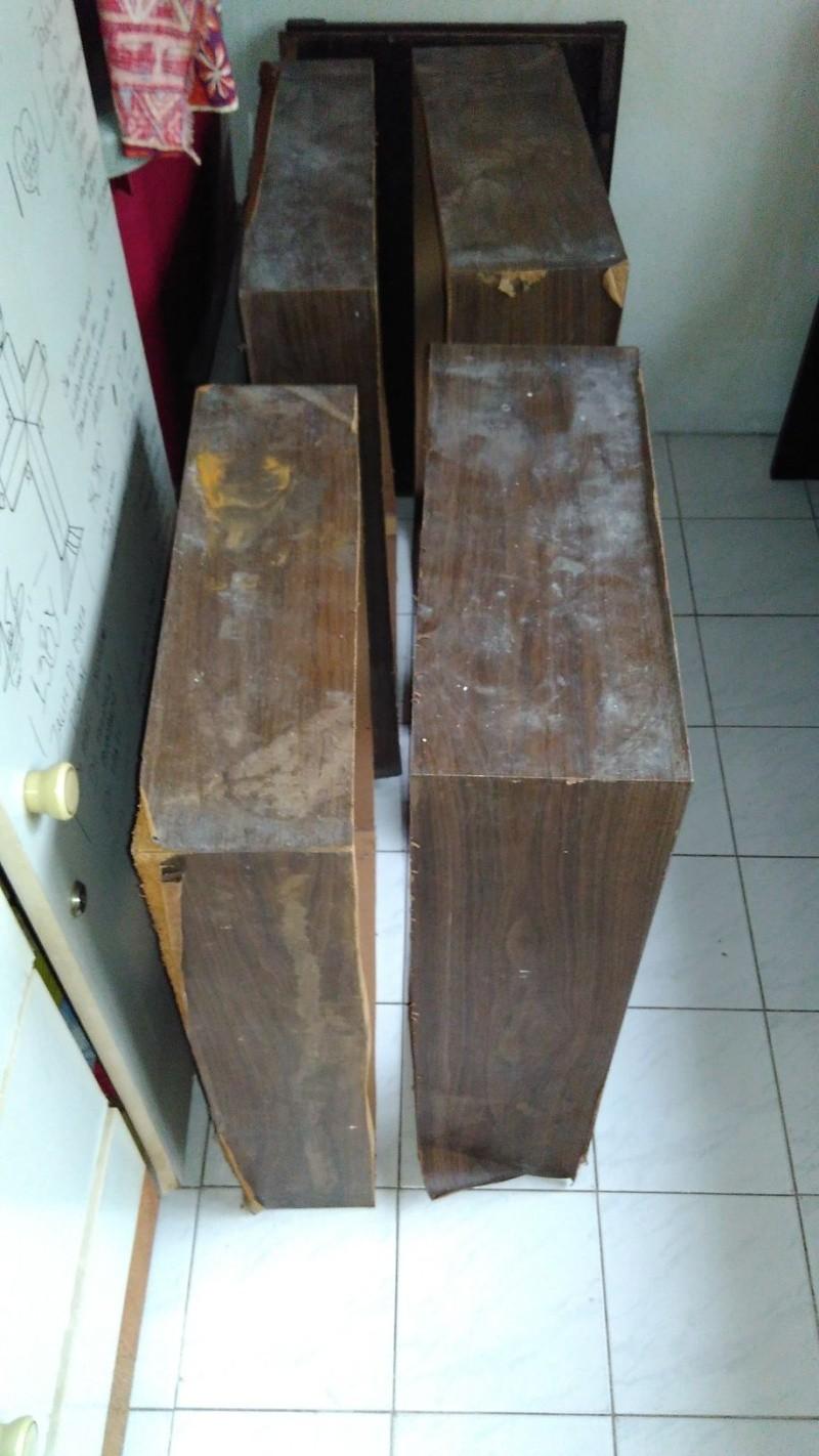Rebuilding a pair of vintage Sansui speakers SP-X7700 Img_2048