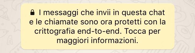 WhatsApp più sicuro, arriva la crittografia end-to-end! - Pagina 2 Whatsa10