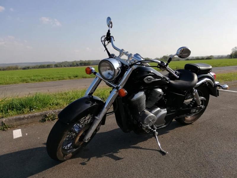 Honda 750 Shadow ACE : Mon 1er custom 58763410