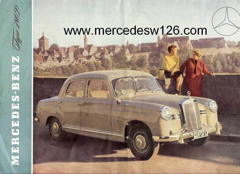 Catalogue de 1954 sur la Mercedes W120 180 D 180_d_11