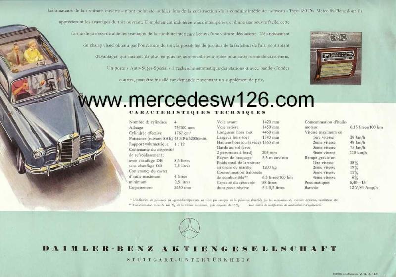 Catalogue de 1954 sur la Mercedes W120 180 D 180_d_14