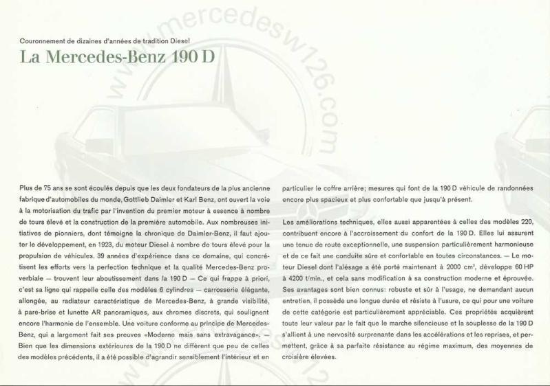 Catalogue de 1963 sur la Mercedes W110 190D 190d_112