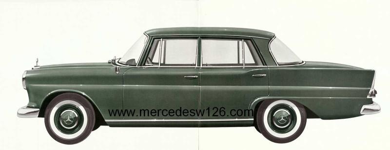 Catalogue de 1963 sur la Mercedes W110 190D 190d_113