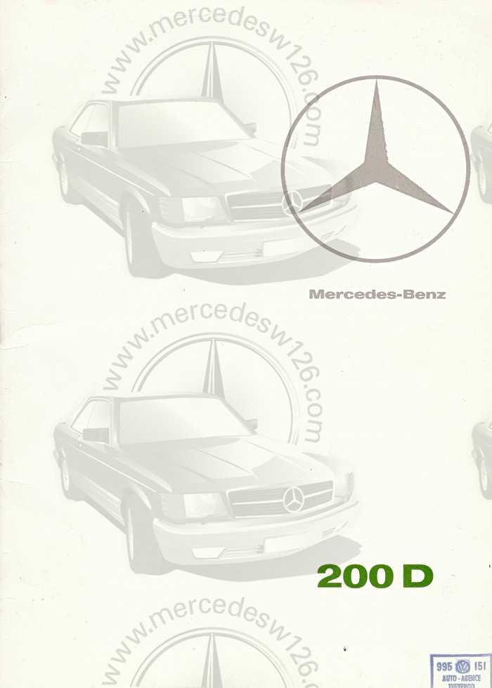 Catalogue de 1967 sur la Mercedes W110 200 D  200_d_10