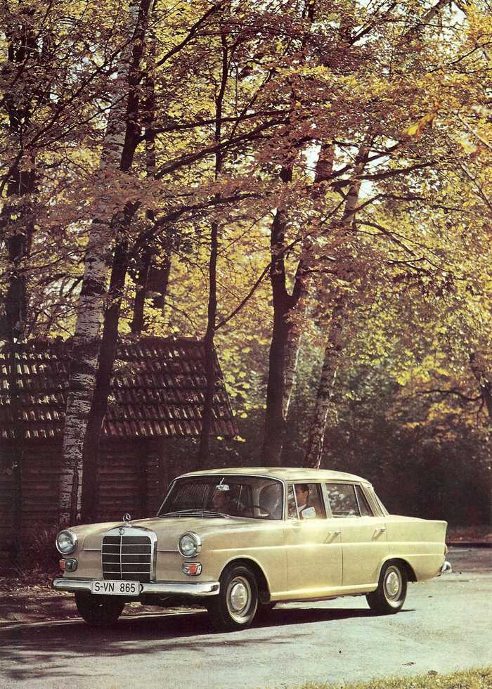 Catalogue de 1967 sur la Mercedes W110 200 D  200_d_20