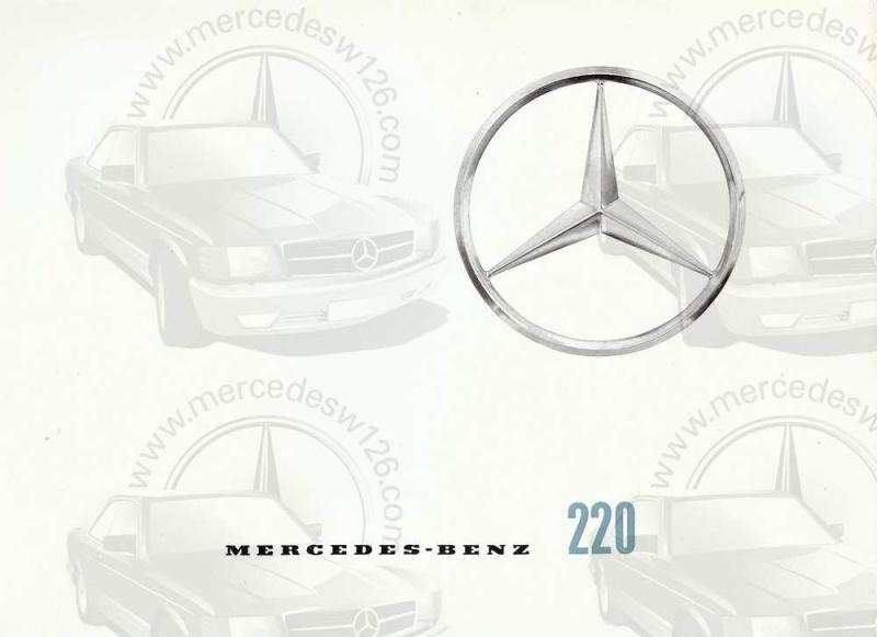 Catalogue de 1959 sur la Mercedes W110 220 220_1910