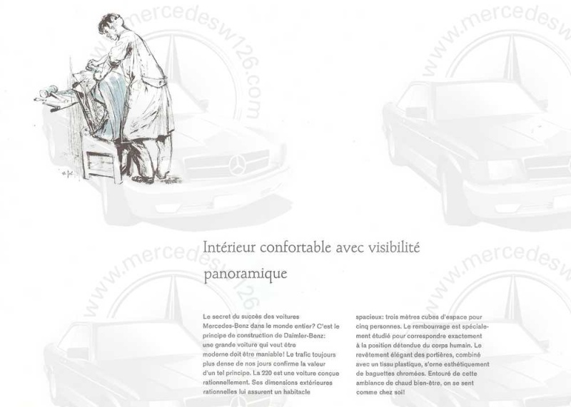 Catalogue de 1959 sur la Mercedes W110 220 220_1918